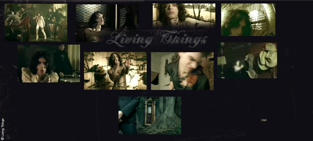 "Screen shots from the filming of the music video ""Bombs Below"" by DreamWorks Records' Living Things, April, 2006 at Rubel Castle. Shoot hosted by the Glendora Historical Society."